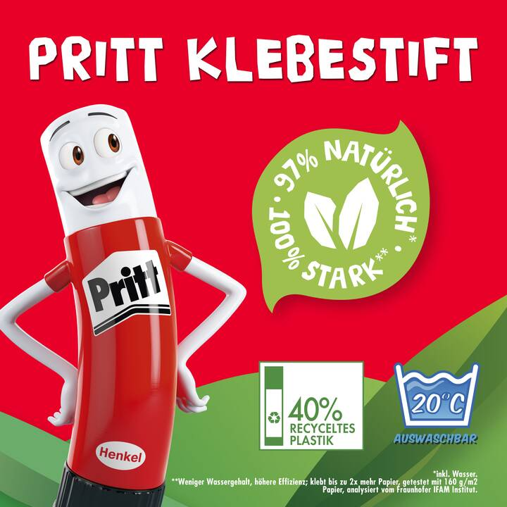 PRITT Colle en bâton BTS (43 g)