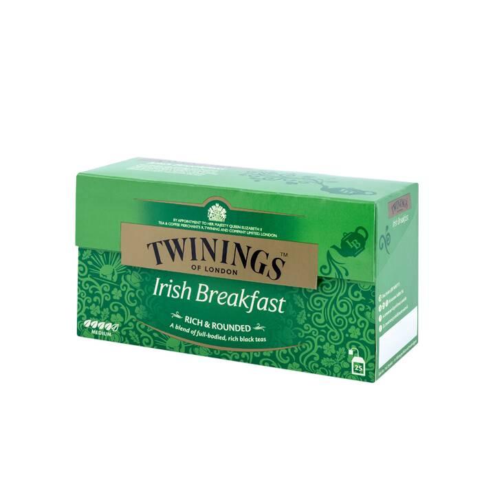 TWININGS Irish Breakfast Tè nero (Bustina di tè, 25 pezzo)