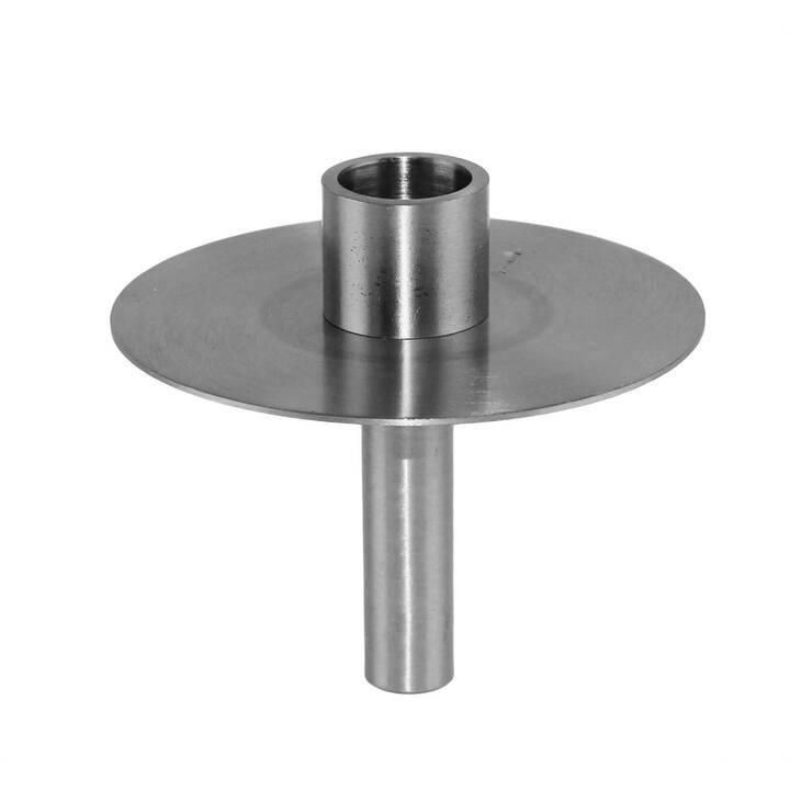 KAHEKU Detroit Kerzenhalter (Silber, 9 cm)