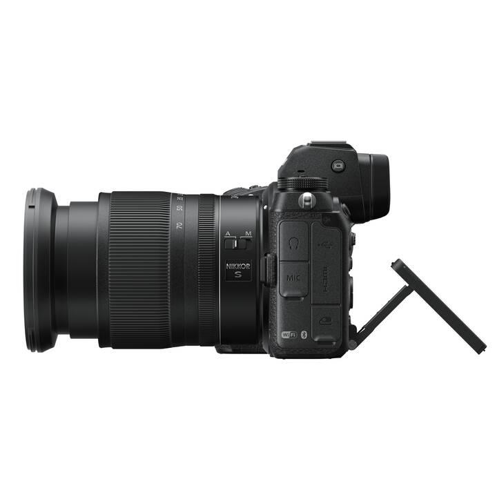 NIKON Z7 II + NIKKOR Z 24-70mm f/4 S + FTZ Adapter Kit (45.7 MP, WLAN)