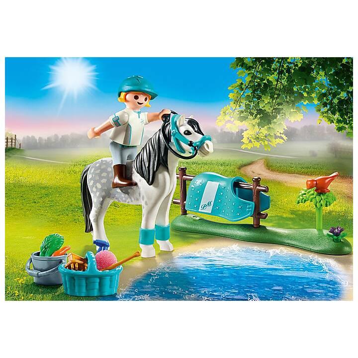 PLAYMOBIL Country Cavalière avec poney gris (70522)