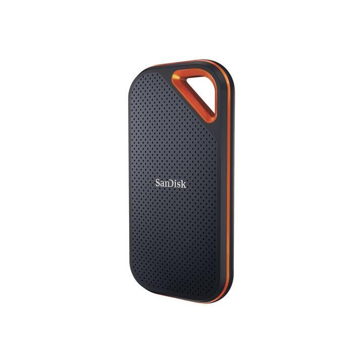 SANDISK Pro Portable V2 (USB 3.2, 1 TB, Noir)