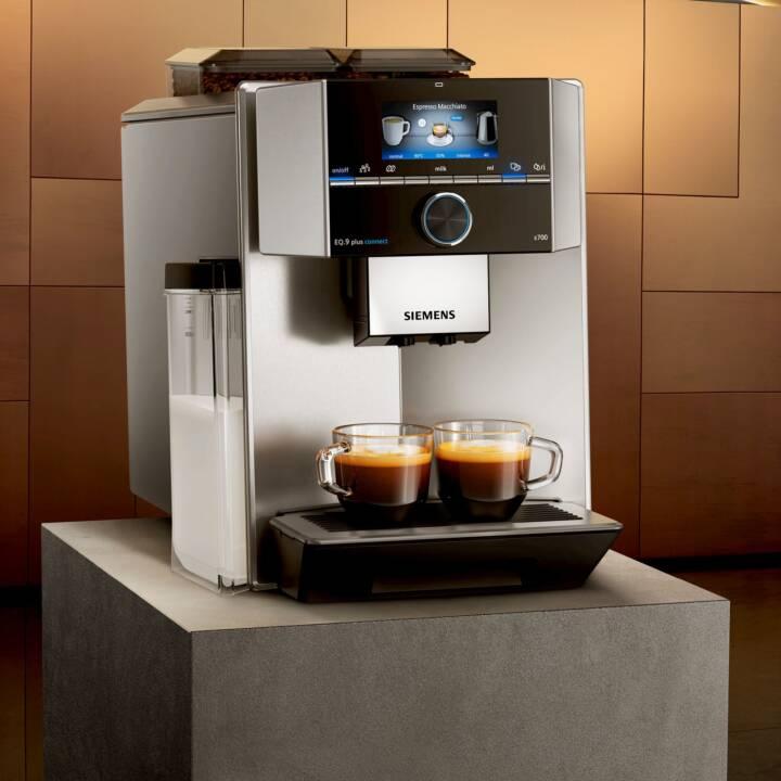 SIEMENS EQ.9 plus connect s700 (Edelstahl, 2.3 l, Kaffeevollautomat)