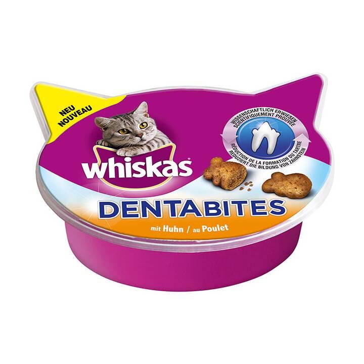 WHISKAS Soins dentaires Dentabites (Pâte, Poule, 40 g)