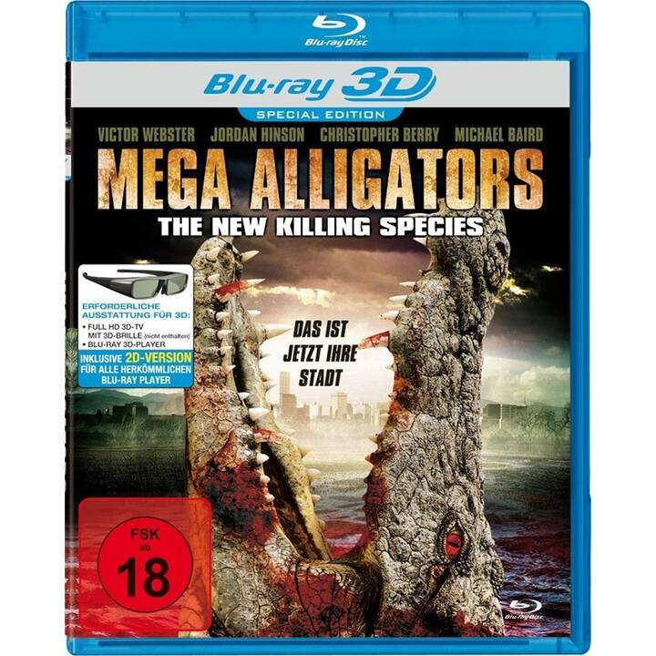 Mega Alligators - The New Killing Species (DE, EN)