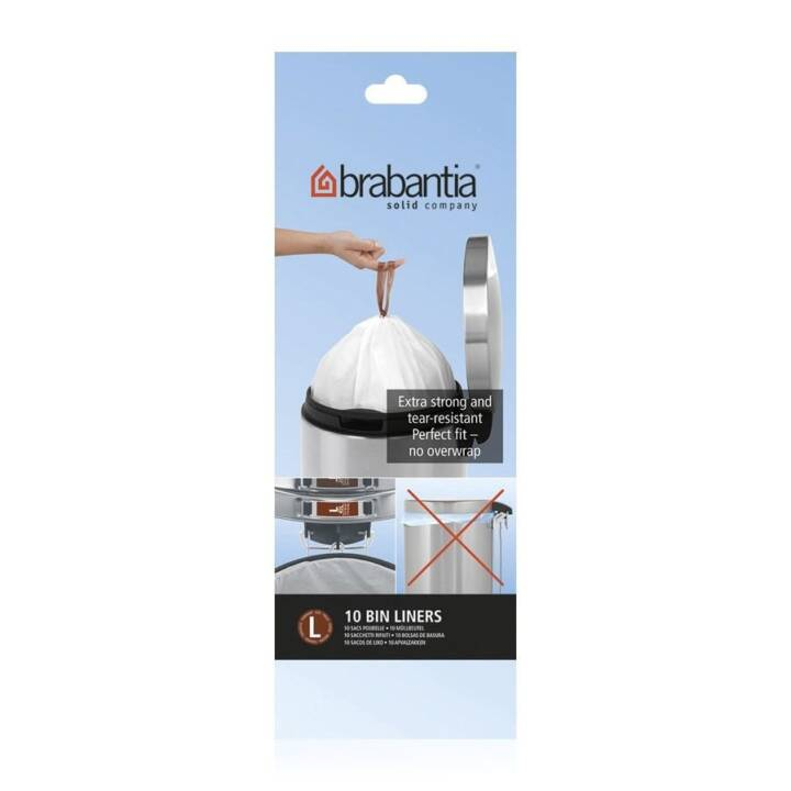 BRABANTIA PerfectFit Sacchetti immondizia (45 l, 10 Stk)