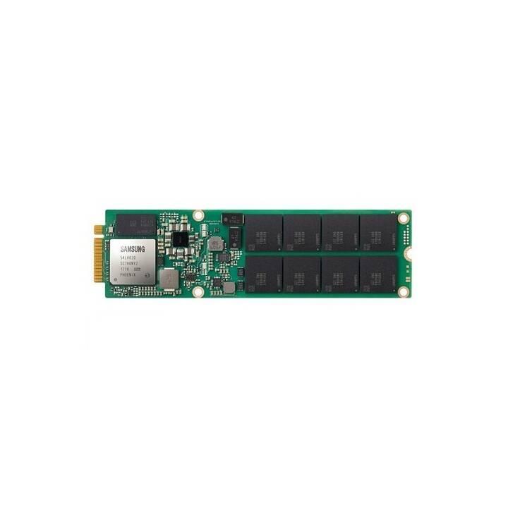 SAMSUNG PM983 (PCI Express, 7680 GB, Vert, Noir)
