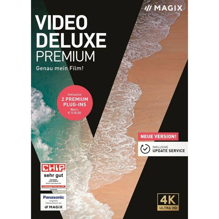 MAGIX ENTERTAINMENT Video deluxe Premium 2020 (Version complète, Allemand)