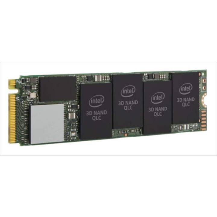 INTEL 660p (PCI Express, 512 GB, Vert, Noir)