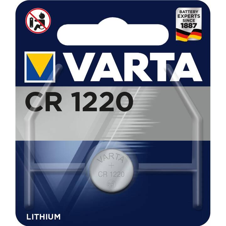 VARTA Batterie (Universell, CR1220, 1 Stück)