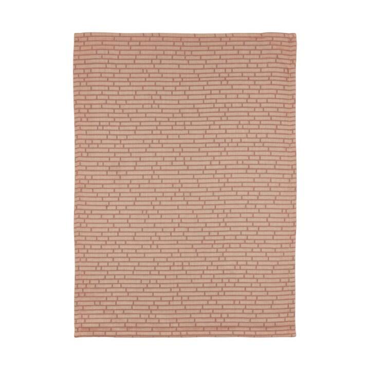 ZONE Geschirrtuch Jacquard Wall Nude (Braun)