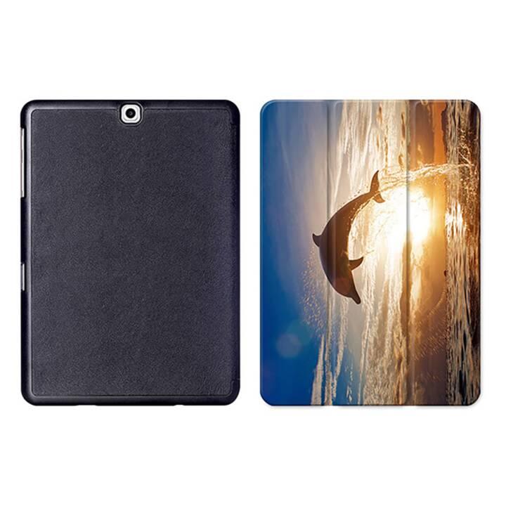 "EG MTT Tablet Bag con coperchio pieghevole Smart per Samsung Galaxy Tab S2 9.7"" MTT - Dolphin"