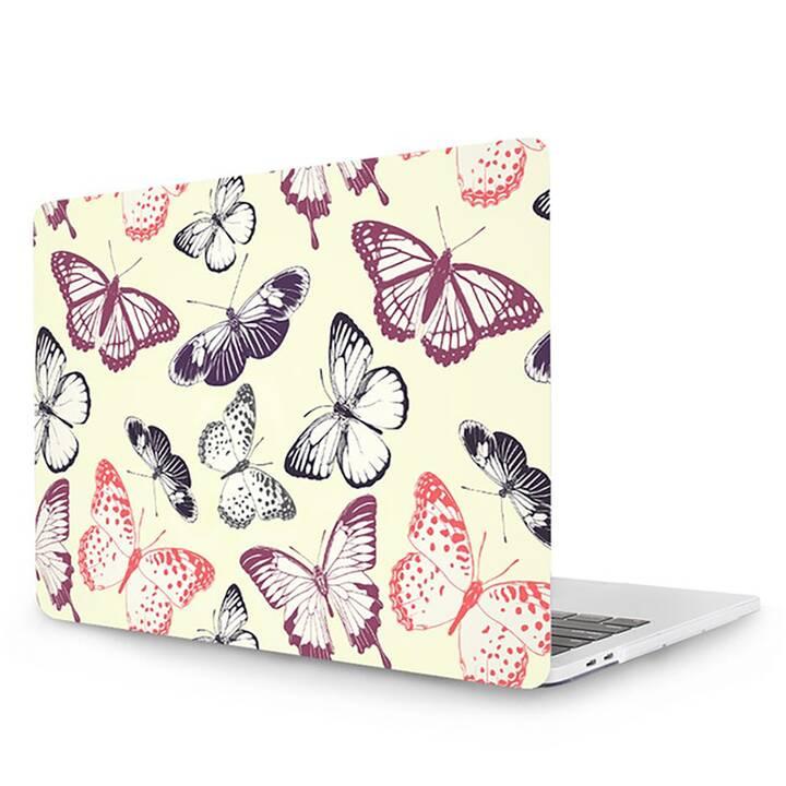 "EG MTT Housse pour MacBook Pro 13"" Touchbar (2016 - 2018) - papillon"