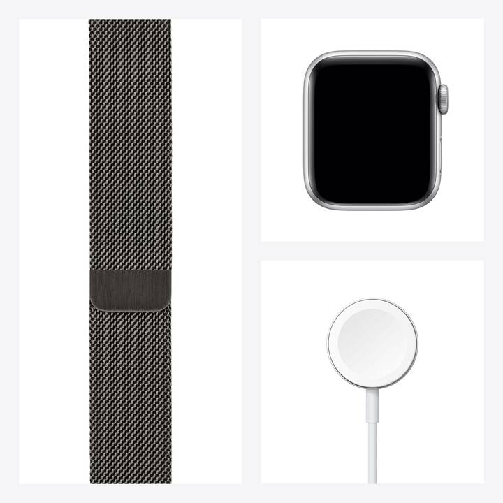 APPLE Watch Series 6 GPS + Cellular (40 mm, Acciaio Inox, Milanese)