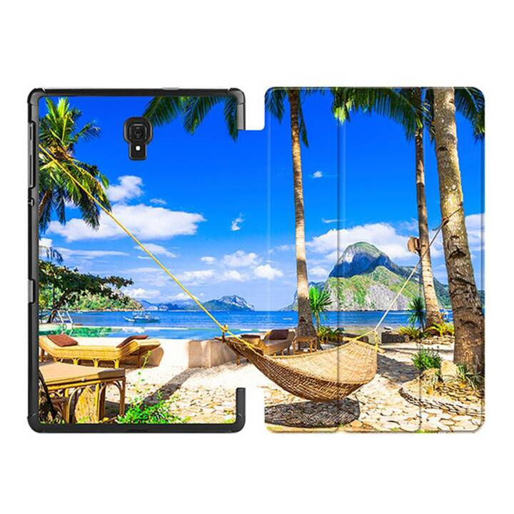 """EG MTT Custodia tablet per Samsung Galaxy Tab A 10.5"""" - Spiaggia"""