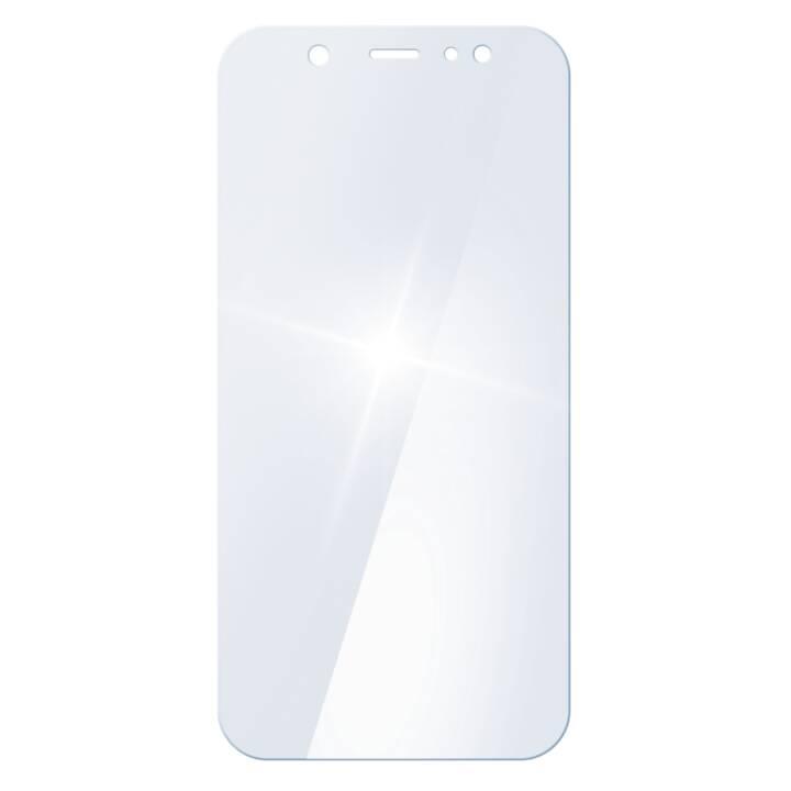 WHITE DIAMONDS Premium Crystal Glass Galaxy A6+ (2018)