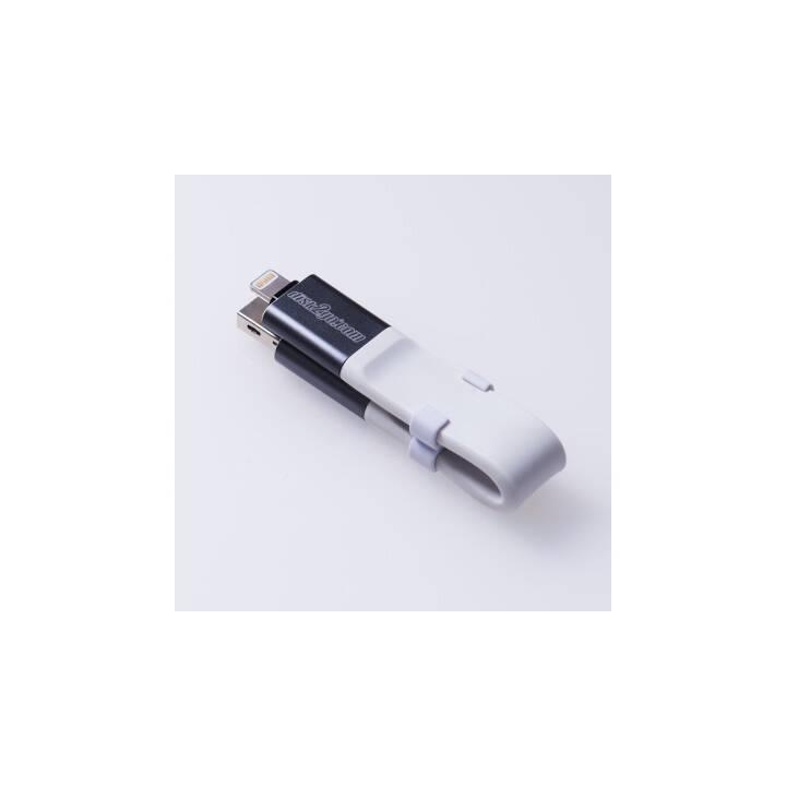 Chiavetta USB DISK2GO i2go 32GB USB 3.0, Lightning + Tipo A