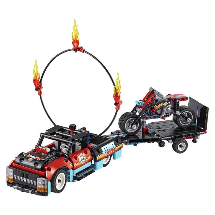 LEGO Technic Stunt-Show mit Truck und Motorrad (42106)