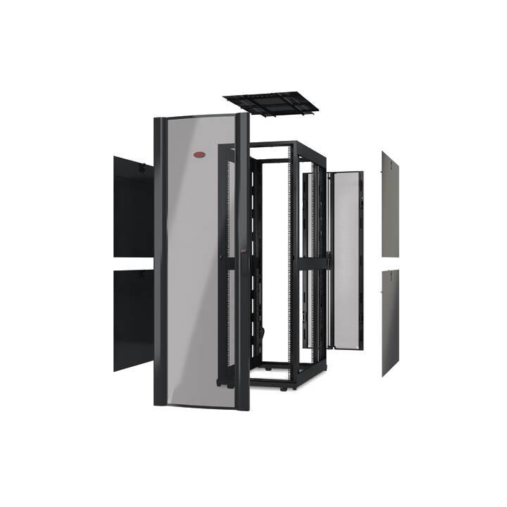APC NetShelter SX Serverschrank, 42HE, Schwarz