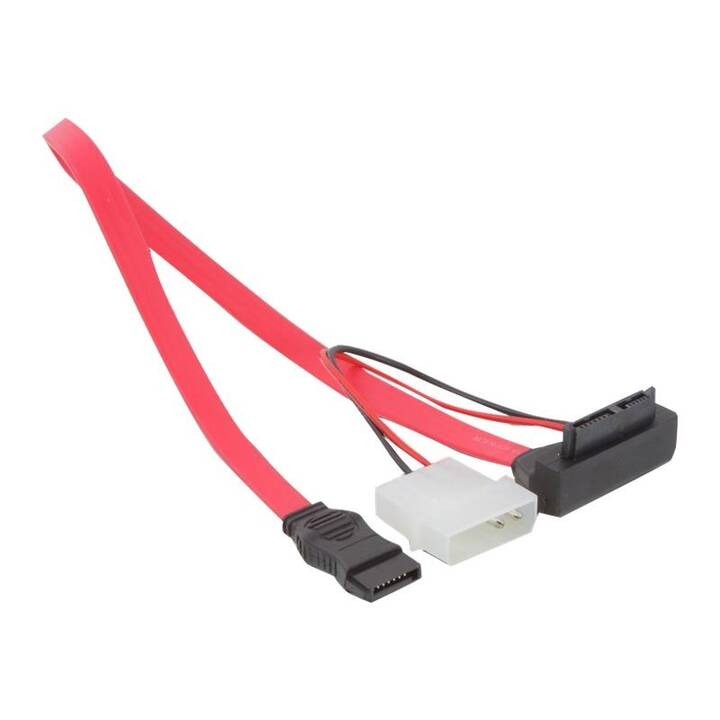 DELOCK Internes Datenkabel (SATA, Slim-SATA, 30 cm)