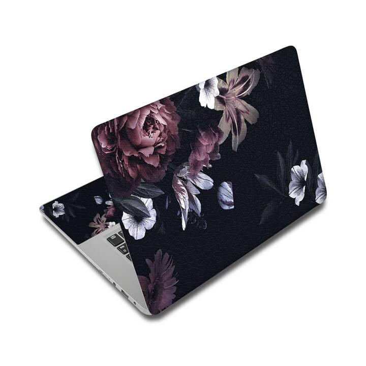 """EG adesivo per laptop 15"""" - fiori"""