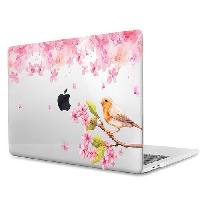"""EG MTT Housse pour MacBook Pro 15"""" Touchbar (2016 - 2018) - Fleurs"""