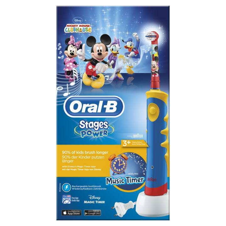 BRAUN Oral-B Power Advanced Topolino Mickey Mouse