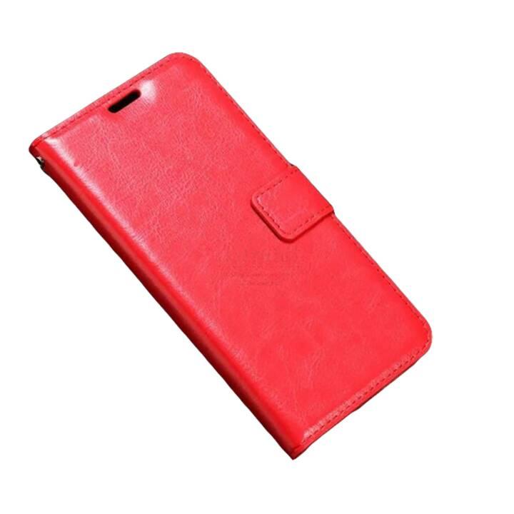 EG Portafoglio Flip Case per iPhone X Rosso