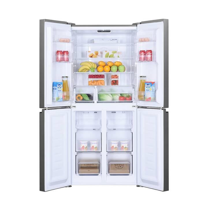 COLDTEC BY KIBERNETIK Multi Door Food Center 401L (Argent, Gauche, Droite)