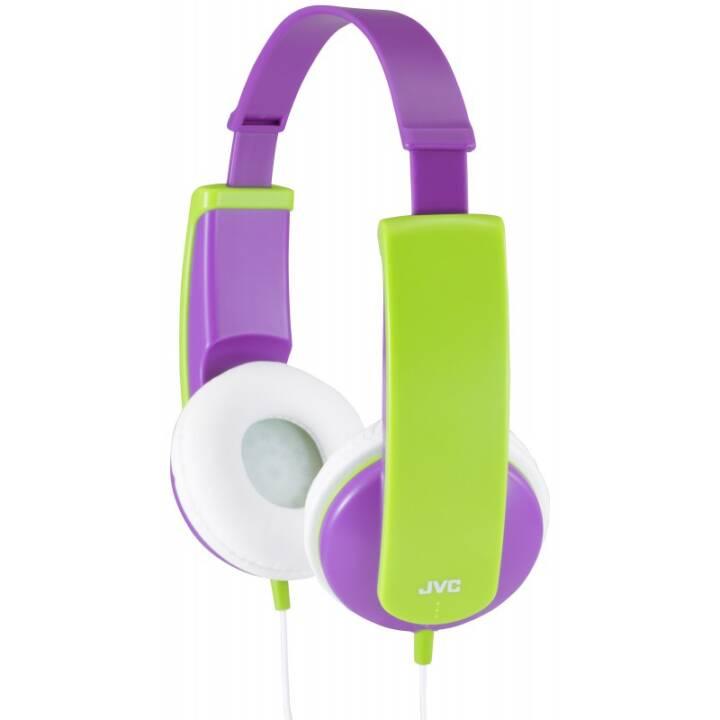 JVC On-Ear-Kinderkopfhörer HA-KD5-V-EF Green
