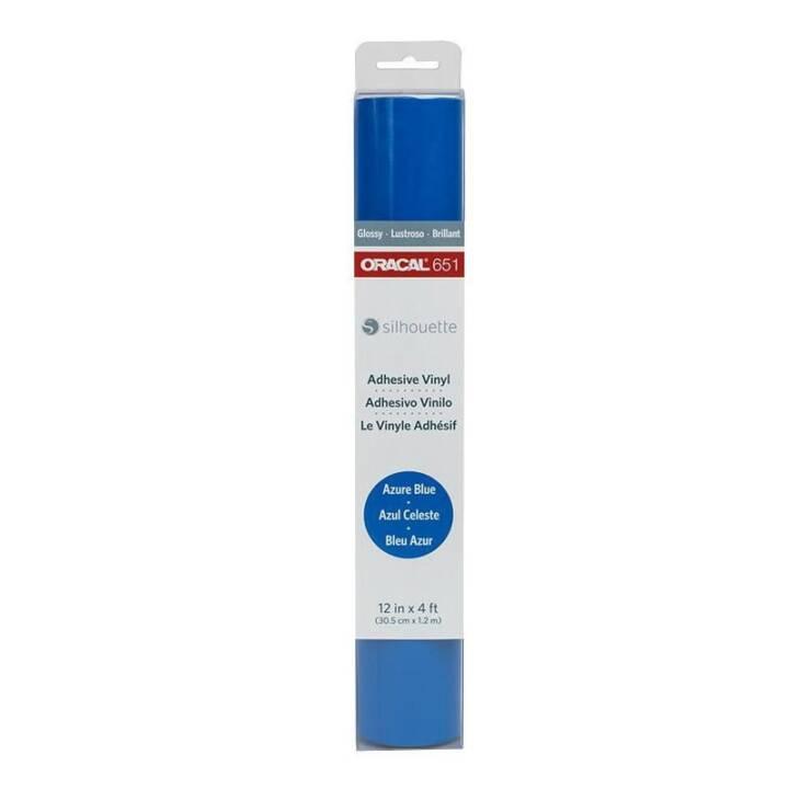 SILHOUETTE film vinyle Oracal 651 bleu azur