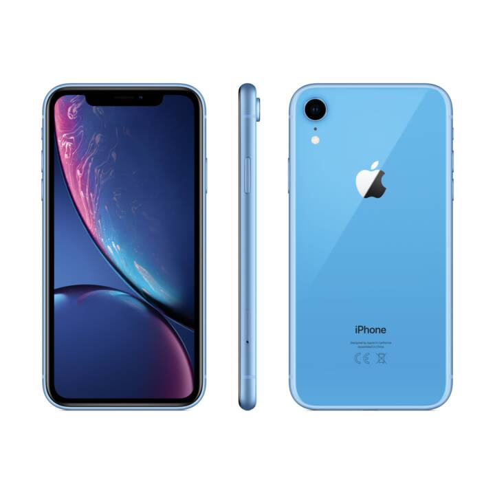 APPLE iPhone XR (64.0 GB, 6.1 inch, 12.0 MP, Blau)
