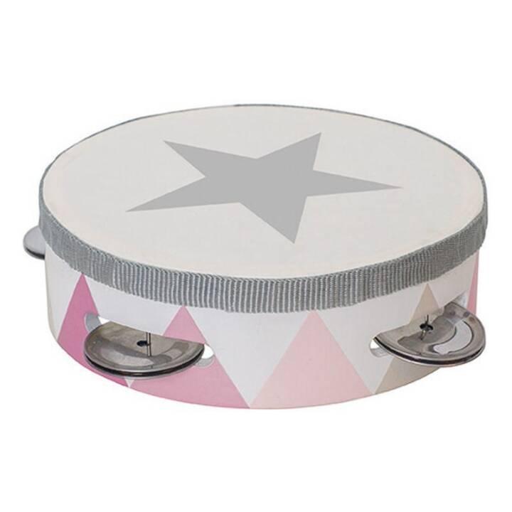 Tambourine Trommel pink null