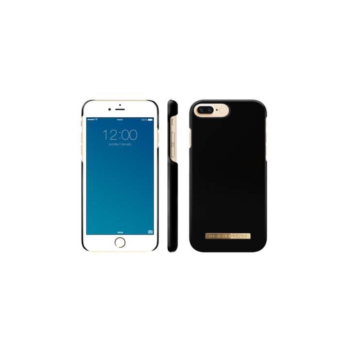 IDEAL OF SWEDEN Backcover Matte Black (iPhone 8 Plus, iPhone 7 Plus, iPhone 6 Plus, Schwarz)