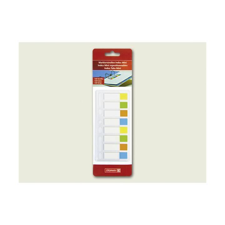 BRUNNEN Notes autocollantes Index Mini (Multicolore)