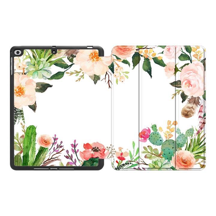 "EG MTT Coque pour Apple iPad Mini 5 2019 7.9"" - Fleurs"