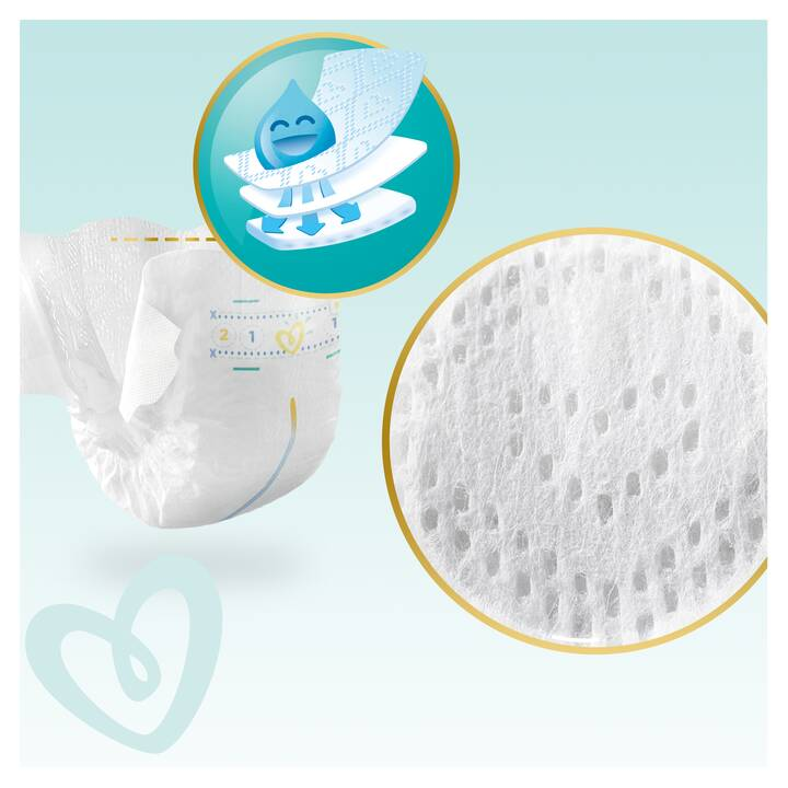 PAMPERS Premium Protection Taille 4 Boîte mensuel