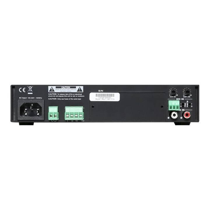 AUDAC Pro COM108 (Stereoverstärker, Schwarz)