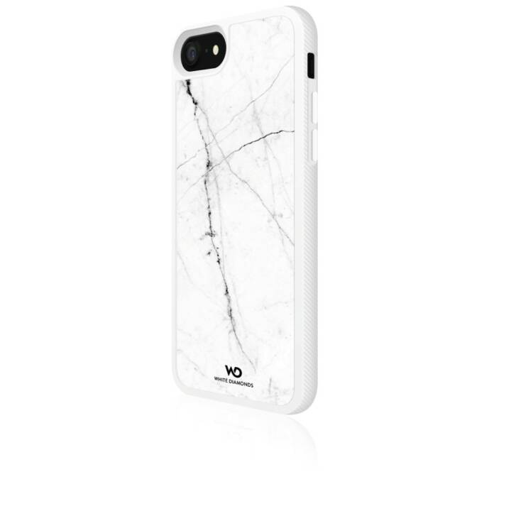 WHITE DIAMONDS Backcover Tough Marble (Apple iPhone 7,  iPhone 8, Weiss)