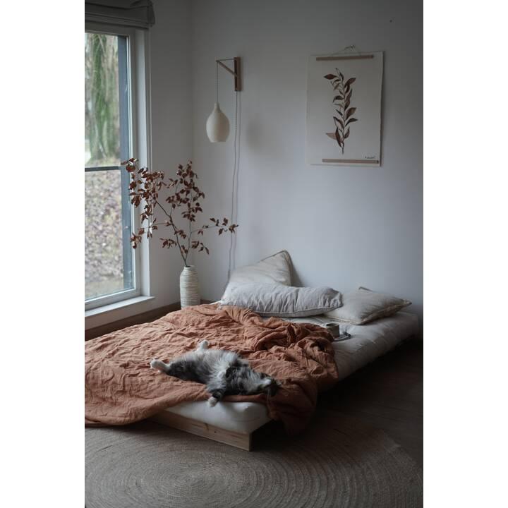KARUP DESIGN Roots 140 Divano letto (Poliestere, Cotone, Natura, 140 cm x 108 cm)