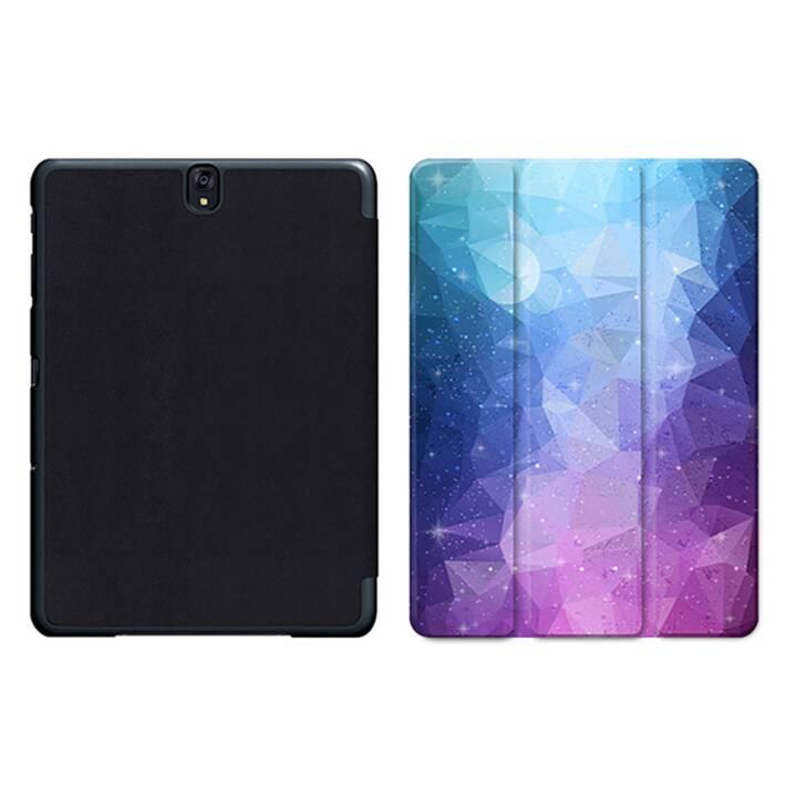 """EG MTT Sacoche à comprimés avec housse pliable Smart pour Samsung Galaxy Tab S3 9.7"""" MTT - Violet"""