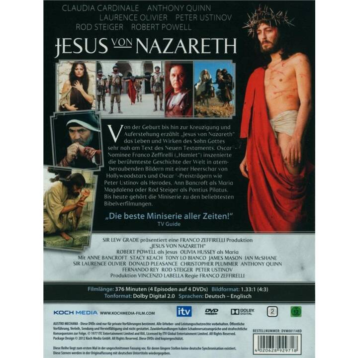 Jesus von Nazareth (DE, EN)