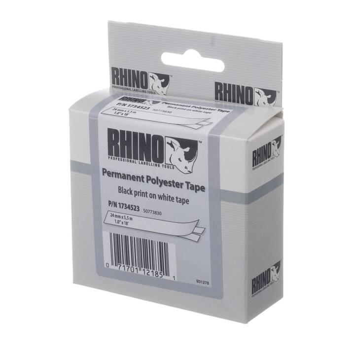 DYMO Ruban d'étiquettes ID 1 2,4cm x 5,5m