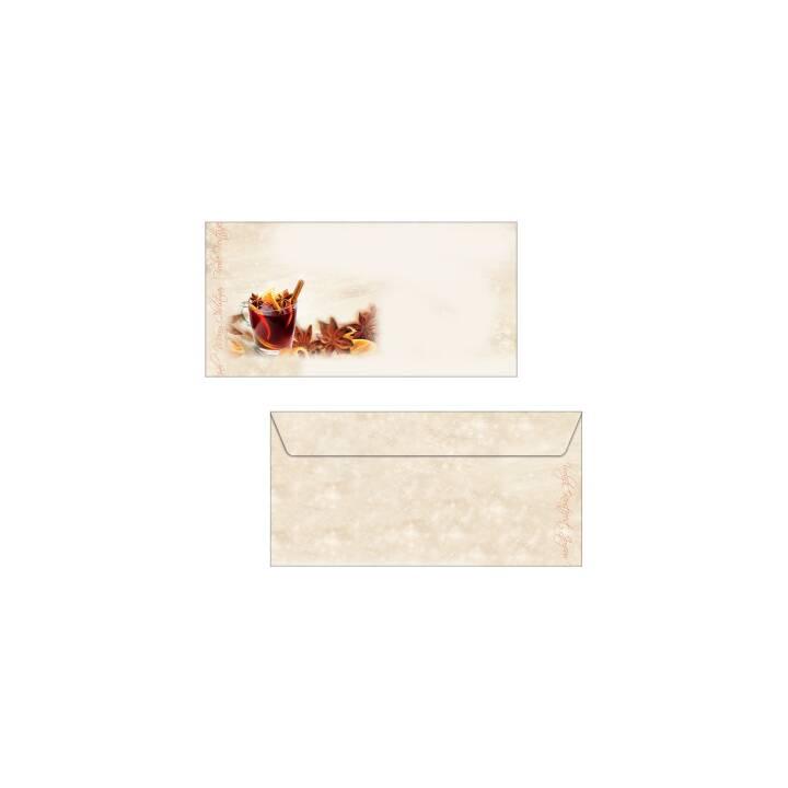 SIGEL Weihnachts-Umschlag 11x22cm
