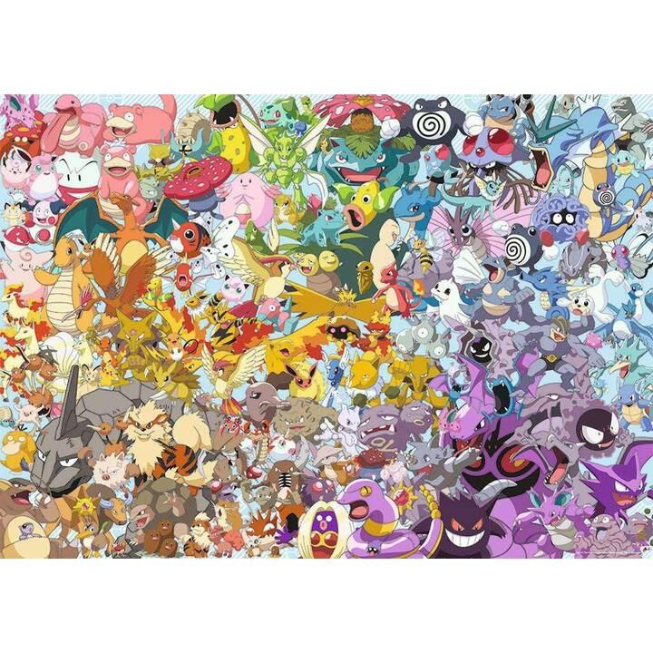 RAVENSBURGER Pokémon (1000 Stück, 2D Puzzle)