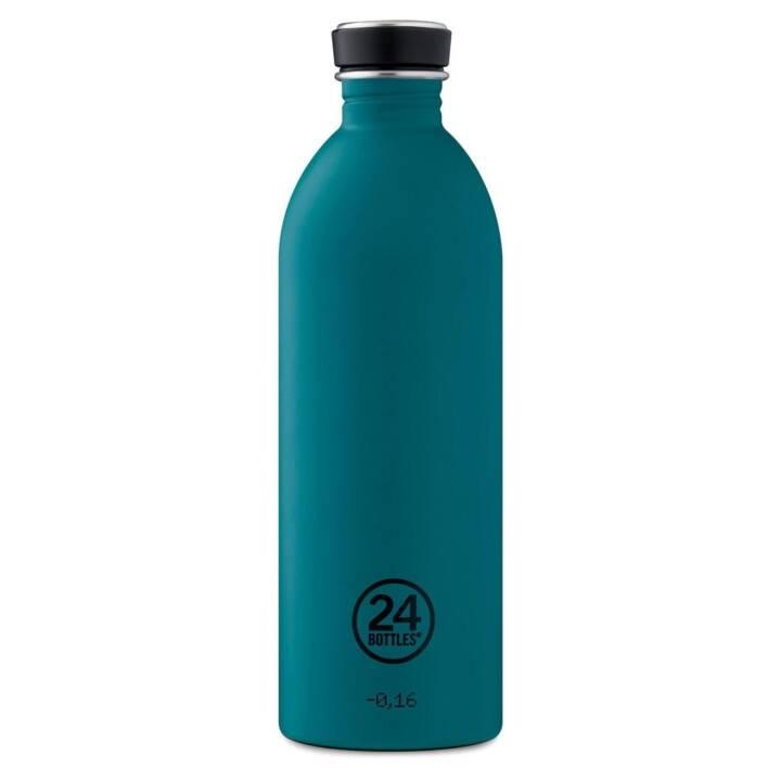 24BOTTLES Trinkflasche Urban Atlantic Bay (1 l, Petrol)