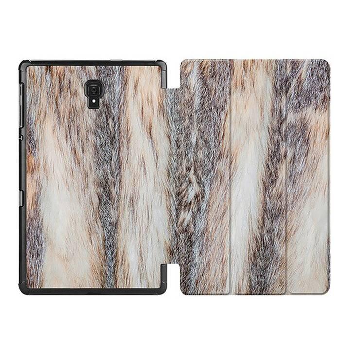 "EG MTT Custodia per Samsung Galaxy Tab A 8"" 2019 SM-P200/P205 - Pelle di animale"