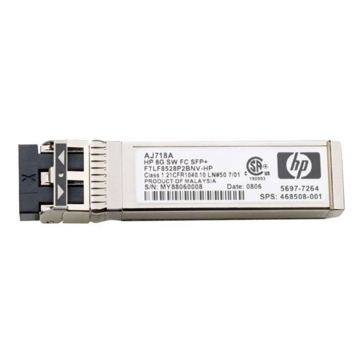 HP Modulo SFP+ AJ906A Transceiver (8 GB/s)