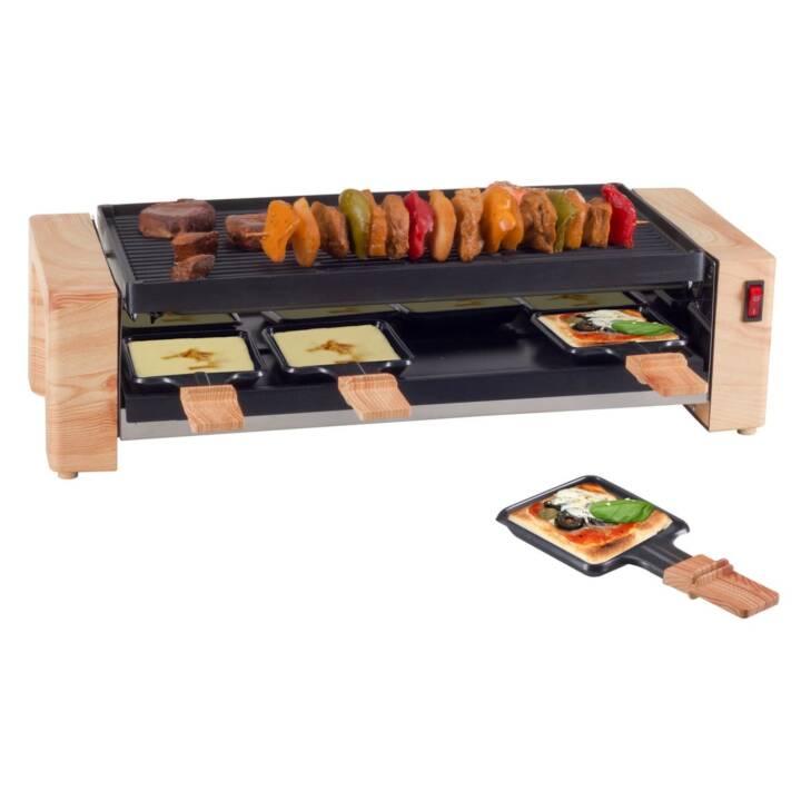 NOUVEL Raclette Gerät Wood Grill & Pizza