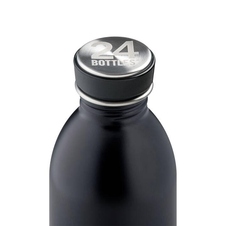 24BOTTLES Bouteille Urban Tuxedo Black (Noir, 0.25 l)